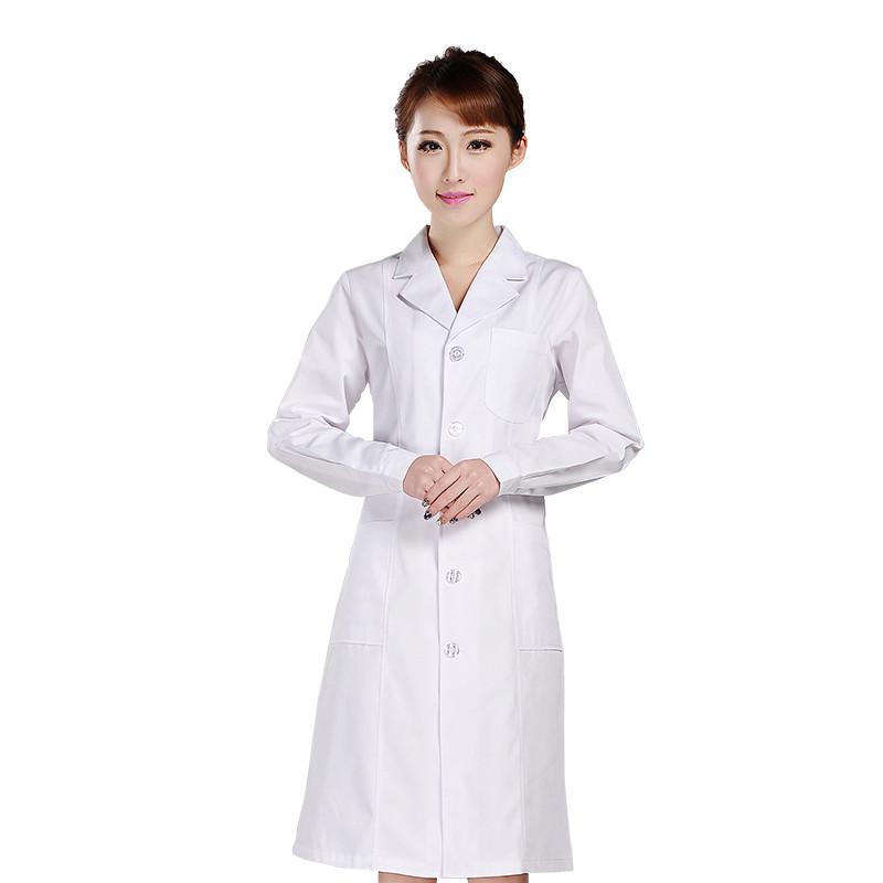 白色西服领医生白大褂/护士服 冬装  XYH-01