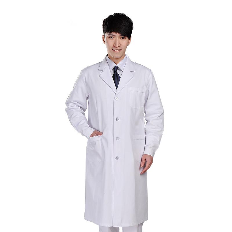 男/女白色西服领医生服/护士服 冬装 XYH-02