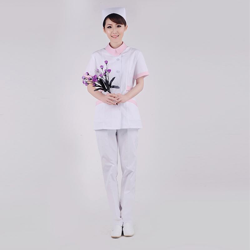 祥龙缘护士服分体套装夏装短袖医生服美容牙科工作服女士XYB-02
