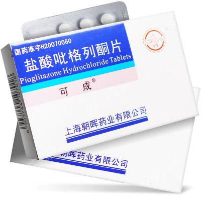 可成 盐酸吡格列酮片 15mg*7片