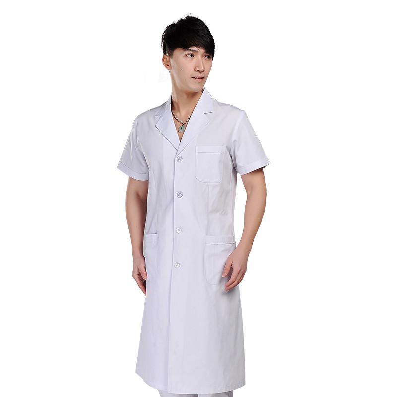 白色西服领医生服/护士服 夏装XYG-02
