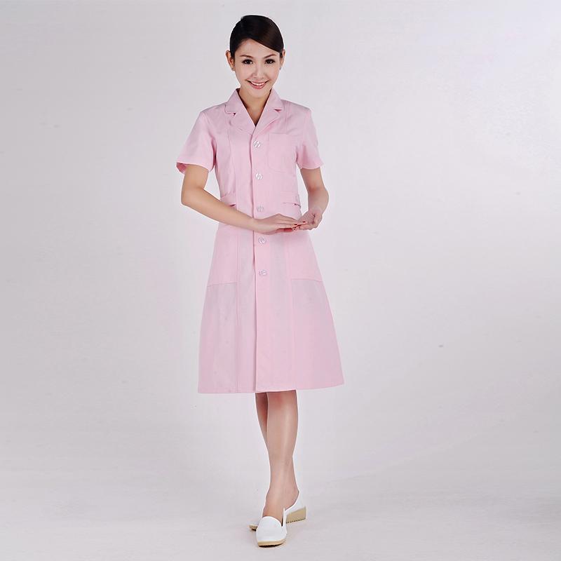 粉色医生护士/美容口腔/药店工作服 冬装  XYC-22